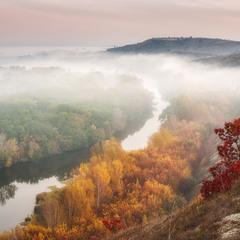 Осінь на Сіверському Донці
