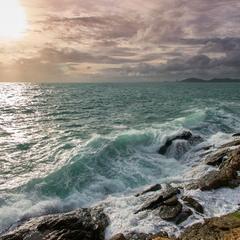 Закатные волны
