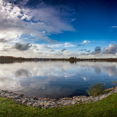 Willen Lake (panorama) UK