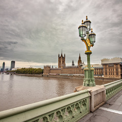 View from Westminster Bridge, London