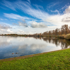 Willen Lake, Milton Keynes, UK