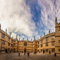 University of Oxford (panorama inside)