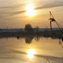 Березневий ранок золотий...