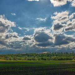 Пейзажна лірика... Небо