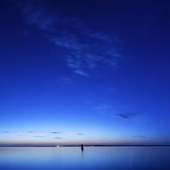 Киевское море.Летняя ночь.