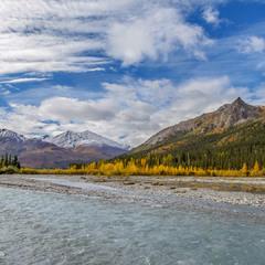 Август на Аляске