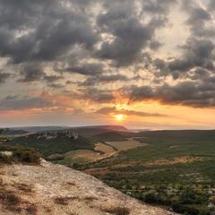 Рассветные горизонты  Узун-Тарлы.