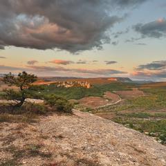 Закат над Каралезкой долиной.