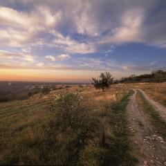 Закат на Таш-Джаргане.