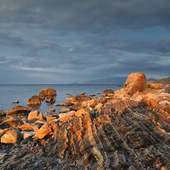 Каменные гребешки.