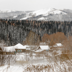 # Зима на востоке Казахстана #