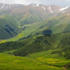 # Юго-восток Казахстана:  цвета и формы...#