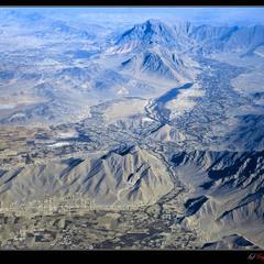# Aфганистан:  вид сверху...#