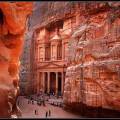 #...и приснилась мне Петра # из серии # Иорданские этюды #