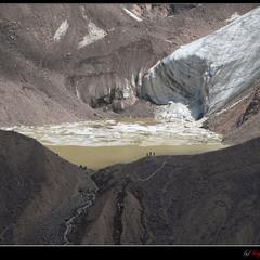 # Ледниковые страсти #  из серии...