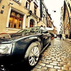 Старые улочки Риги