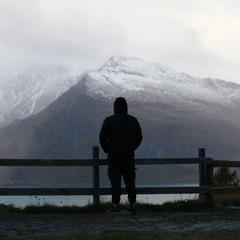 Лучше гор, могут быть только горы! в снегу)