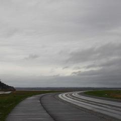 Дорога к Мон-Сен-Мишель
