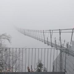 Highline179 - самый длинный висячий мост в Европе. Австрия, Тироль