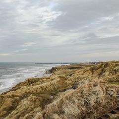 Hirtshals. Северная Ютландия - побережье пролива Скагеррак