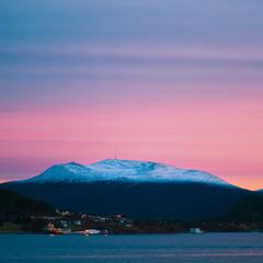Рассвет в Норвегии