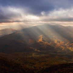 Осенний пейзаж Карпат