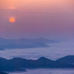 Рассвет в Карпатах