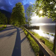 На Бохинском озере