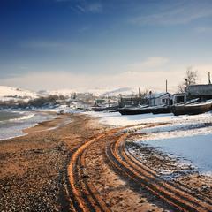 Зима на Крымском берегу