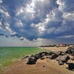 Тучное море.