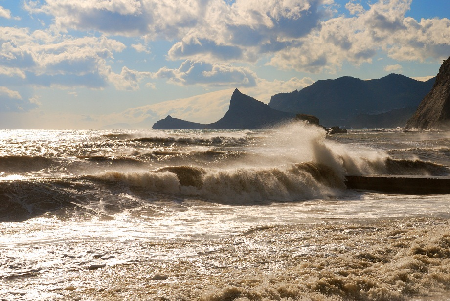 черное море шторм картинки следствие, боец