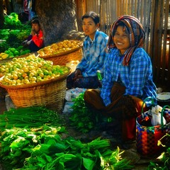 Myanmar's Market place