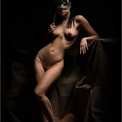 in mask
