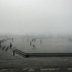Туманний крікет в Варанасі