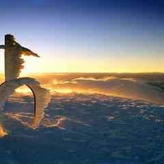 Рождение Нового года. 8 часов утра на горе Говерла