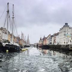 Новая гавань, Копенгаген, март 2018