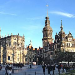 Дрезден осенний
