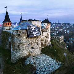 Рухнувшая башня замка