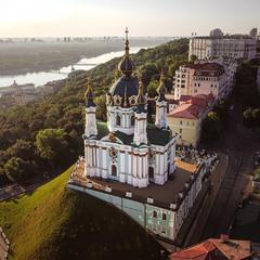Київ. Ранок
