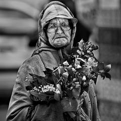 О продавщице цветов...