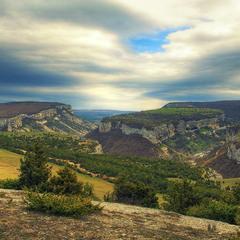 Столовые горы Крымского предгорья