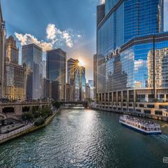 Чикагский пейзаж