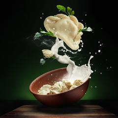Home Pierogi (Ukrainian food)