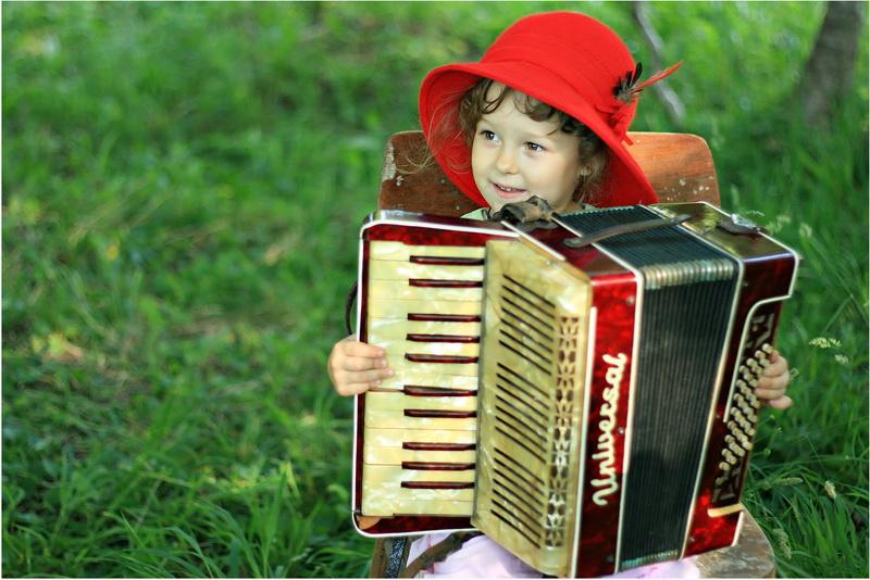 Музыкальные, веселые картинки с баяном