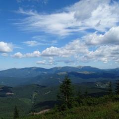Небо і гори