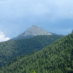 Гора і небо