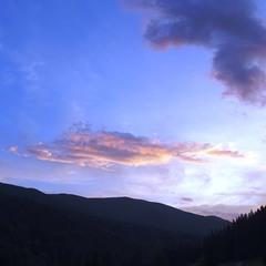 Вечір в горах