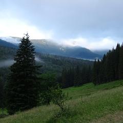 Контрасти гірського ранку