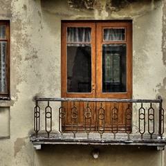 Балкон і вікно