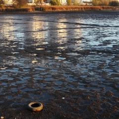 ноябрь. озеро